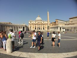St Peters Square in Vatican City , ljallen91 - July 2016