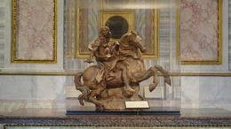 Histoire rocambolesque pour le Bernin pour ce projet de sculpture destiné à Louis XIV pour les jardin de Versailles , marie gabrielle G - May 2016