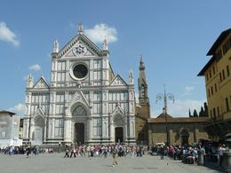 The Glorious Facade of the Basilica of Santa Croce, Philippa Burne - July 2011