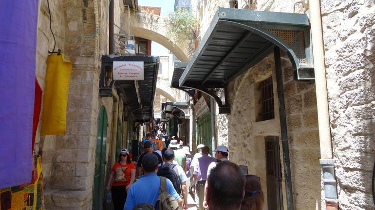 The Muslim Qtr - Jerusalem