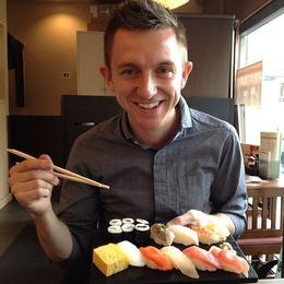 Sushi!, Asha & Brock - July 2013
