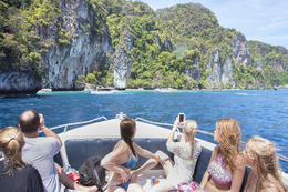 Thailand's Phi Phi Islands from Krabi by speedboat., Viator Insider - January 2018