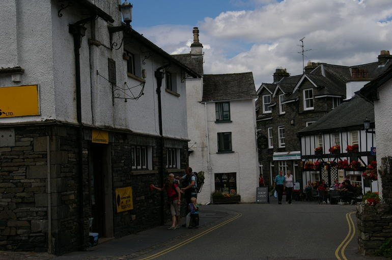 village of Wordsworth's school - Windermere