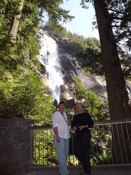 We called into this waterfall on our way beac to Vancouver. , Dorothy C - September 2011