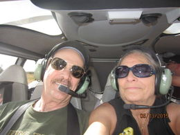 In the air, high above the Grand Canyon , James A T - June 2015