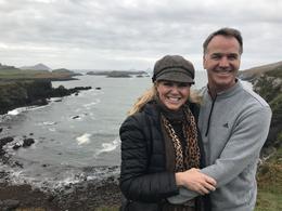Cassi and Jock at Telegraph Field, Valentia Island , Cassi W - October 2017