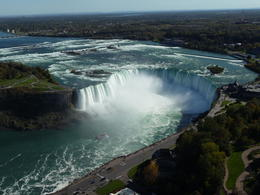 View of the horseshoe falls from Skylon Tower - short walk from bus , b_nordling - October 2017