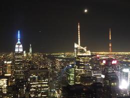 Ausblick auf NY bei Nacht , Elisabeth A - October 2014