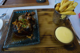Amazing meal of beef tenderloin at Lava restaurant. , kerrymannette - September 2016