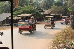Two persons per tuk-tuk. The only way to get the feeling of the countryside. , Willis - March 2015