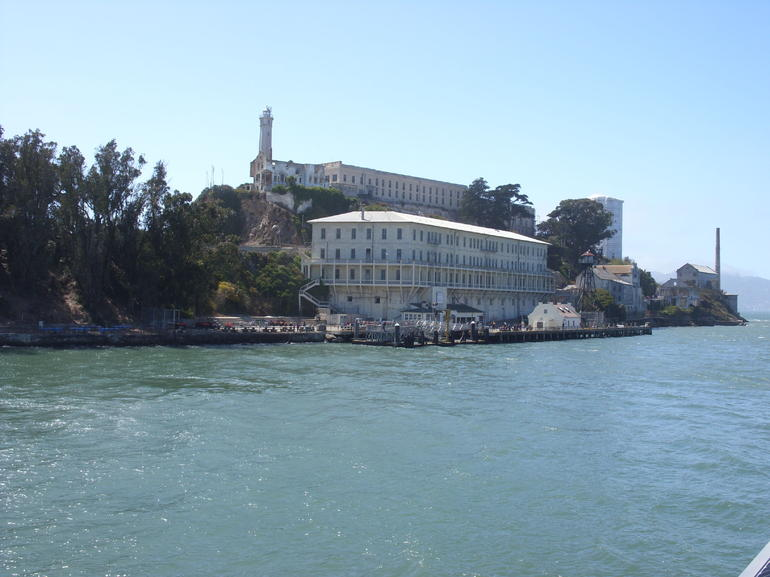 Approaching Alcatraz. - San Francisco