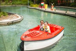 Drive a boat at Legoland!, Rebecca H - April 2017