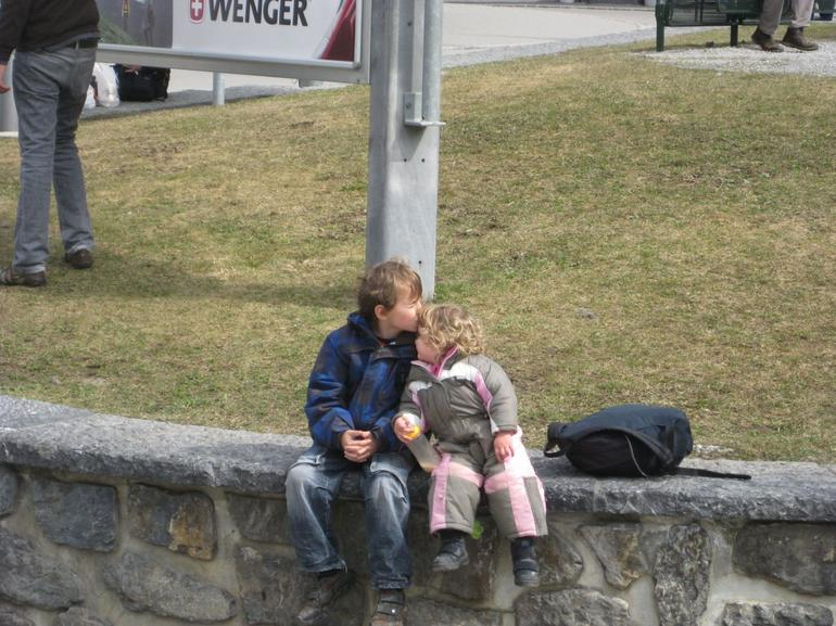 brother and sister - Lucerne
