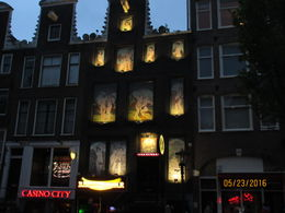 Building in Red Light District , sacjt - June 2016