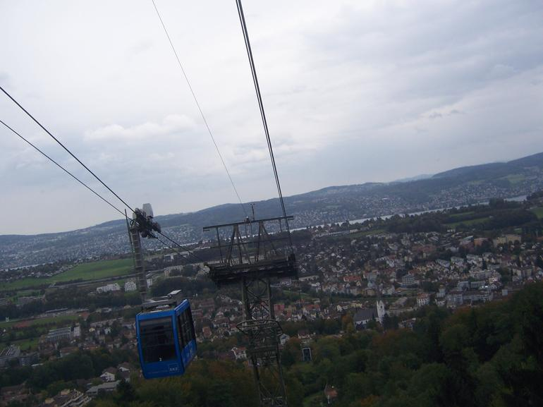 Cable Car to Felsenegg - Zurich