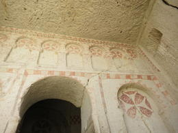 Goreme Open Air Museum has dozen of such beautiful paintings and many are very elaborate, Patricia P - July 2014