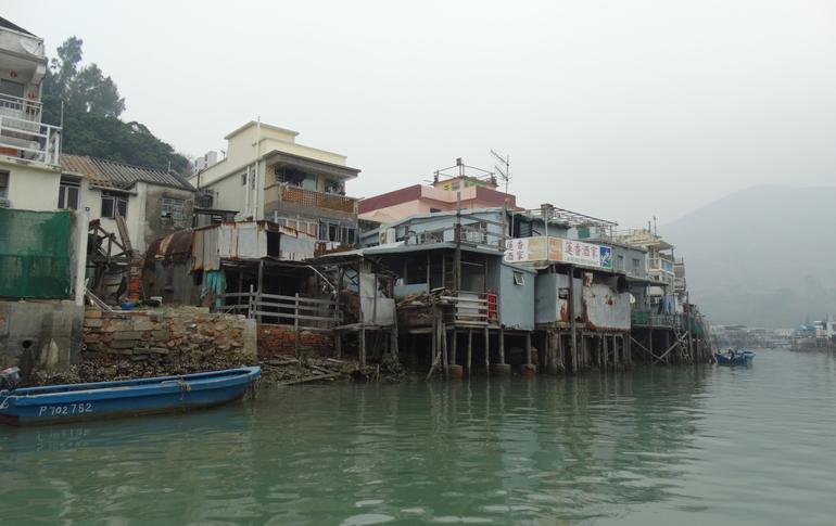 fishersman village during buddah tour - Hong Kong