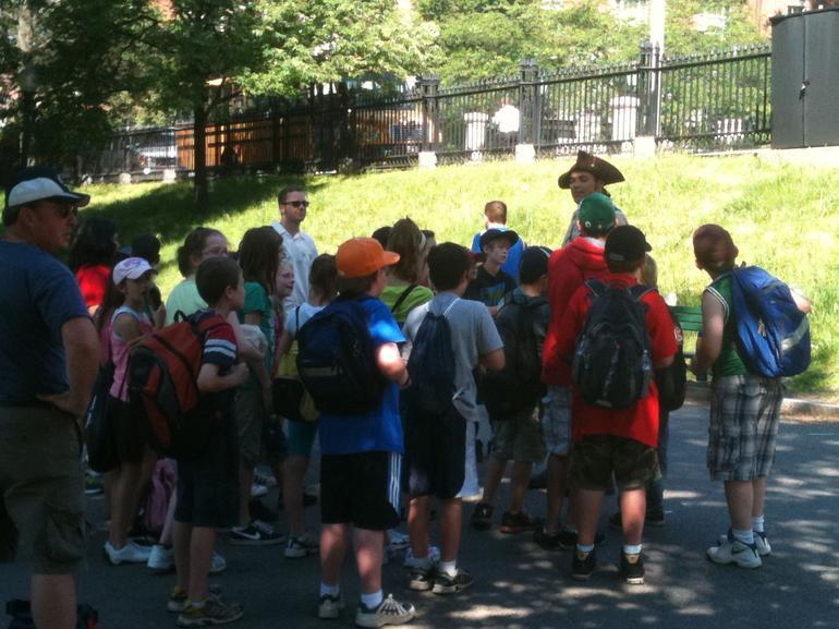 Freedom Trail tour begins in Boston Common - Boston