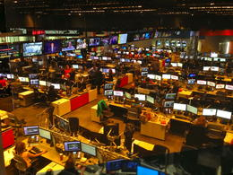 CNN editing room! , Elaine M - October 2013