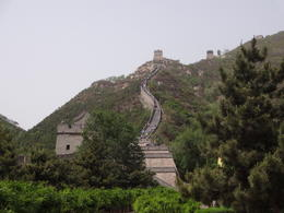 On our tour we swapped to Juyongguan Pass section from Badaling and it was very very steep!!!!! but extremely beautiful section if you get the option on your tour and are fit enough to attempt it ... , David M - May 2014