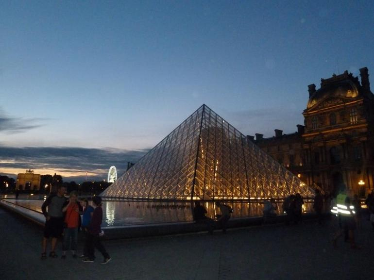 La Louvre At Night - Paris