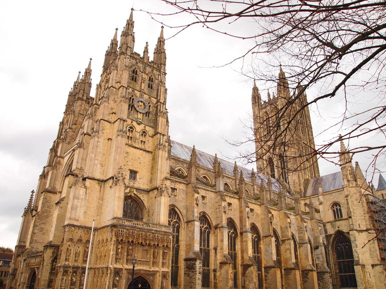 Exterior of Canterbury Cathedral - London