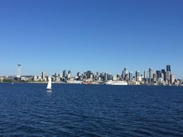 Seattle Skyline , Eulalie C - September 2015