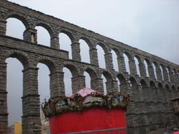 Magnificent view of Segovia., Chun C - June 2010