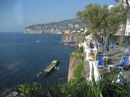 Hotel grounds in Sorrento , Donnalu - June 2012