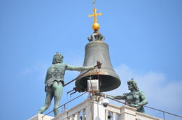 Noon time in St Mark's square the bell is struck 144 times. , Patricia V - May 2016