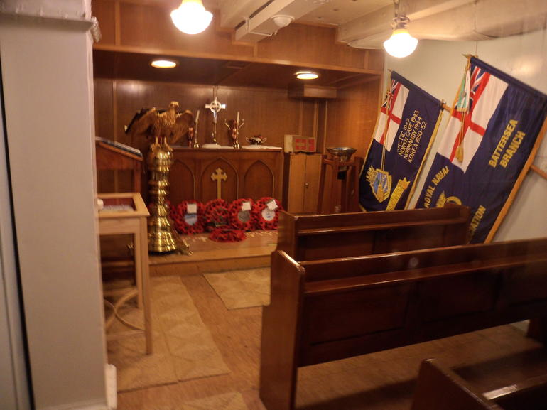 The Chapel in the HMS Belfast - London