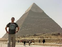 Standing in front of one of the Seven Wonders of the Ancient World! - March 2008