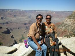 At The Grand Canyons South Rim !!, Trvasudevan V - July 2010