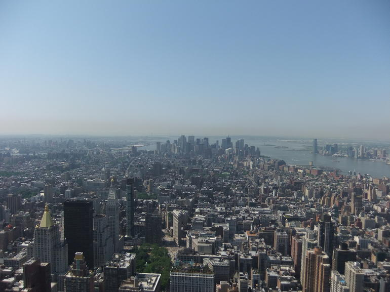 View south from the Empire State Building - New York City