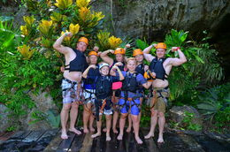 we all had a great time in the cenote , Sam R - August 2016