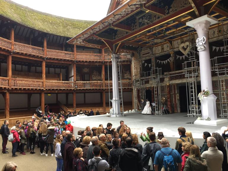Shakespeare's Globe Guided Tours with Optional Afternoon Tea