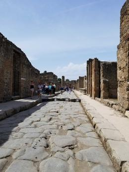 Pompeii ruins. The tourguide was excellent. , Kathleen P - May 2017