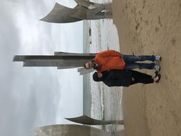 Visiting Omaha Beach , Alex J - May 2017