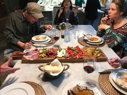 dinner at the villa , mireles.ben - August 2017