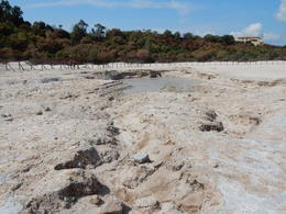 The sulfuric mud pits of Vulcano Solfatara. , John H - August 2017