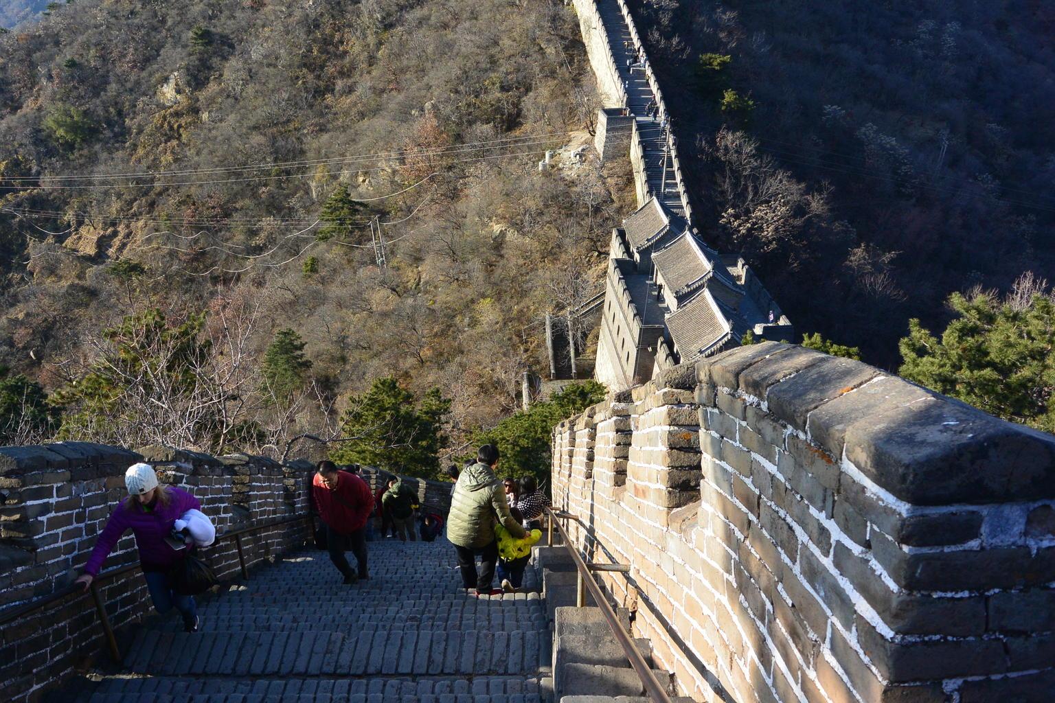 MÁS FOTOS, Grupos pequeños: recorrido por la Ciudad Prohibida de Pekín con senderismo por la Gran Muralla en Mutianyu