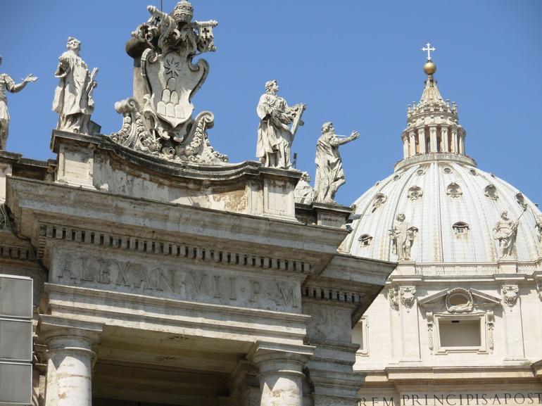 Bernini's Carvings - Rome