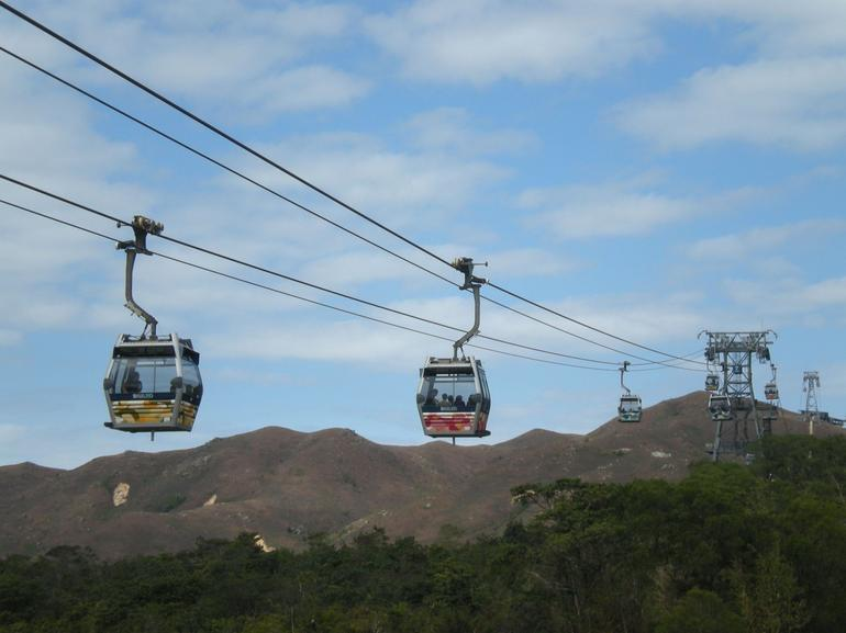 Cable car on Lantau Island -