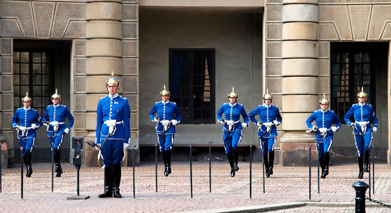 Changing of the Guard - Stockholm