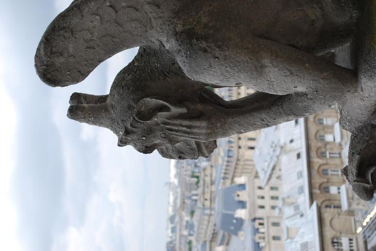 Gargoyle on Notre Dame - Paris