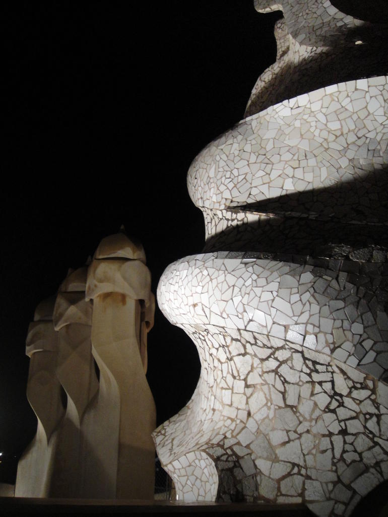 Gaudí?s La Pedrera at Night - Barcelona
