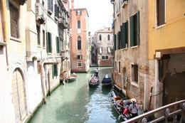 Colors, water, Gondolas - beautiful - July 2009
