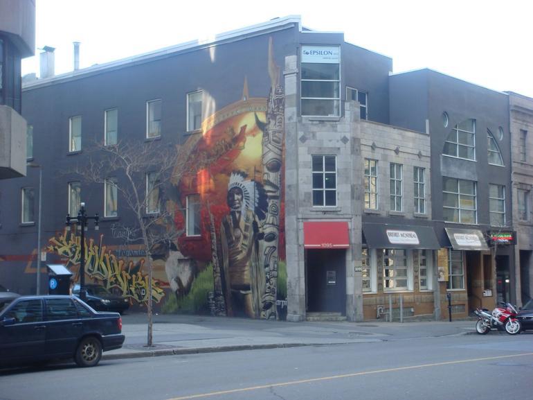 graffiti - Montreal