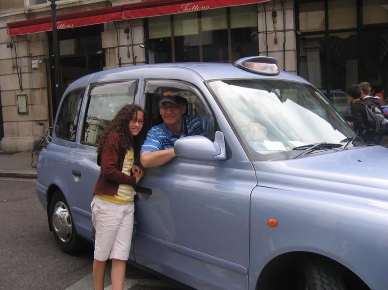I drove a London Taxi! - London