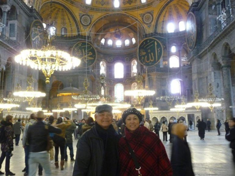 Inside Blue Mosque - Istanbul